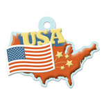 USA Die-cut Tag By We R Memory Keepers
