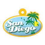 San Diego Die-cut Tag By We R Memory Keepers