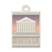 Athens Die-cut Tag By We R Memory Keepers
