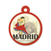 Madrid Die-cut Tag By We R Memory Keepers