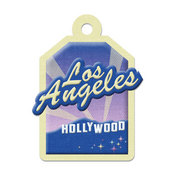 Los Angeles Die-cut Tag By We R Memory Keepers