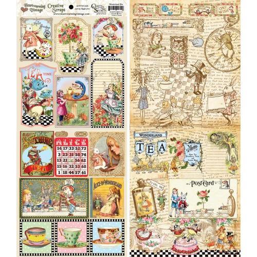 Wonderland Tea Booklet By Crafty Secrets