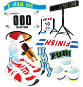 Marathon Runner Stickers By Jolee's Boutique