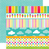 Summer Days Borders Paper By Echo Park