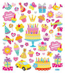 Birthday Wishes Stickers