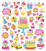 Birthday Wishes Stickers