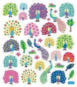 Pretty Peacocks Stickers