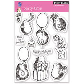Party Time Clear Stamps - Penny Black