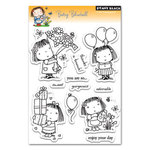 Betsy Bluebell Clear Stamps - Penny Black