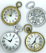 Vintage Pocket Watches Stickers