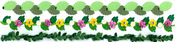 Leaves Border Stickers