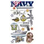 Navy Stickers