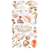 Sea Shells And Sand Stickers