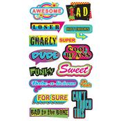 Old School Caption Stickers