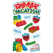 Family Vacation Sticko Stickers