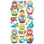 Babushka Babies Stickers