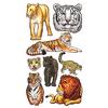 Big Cats Stickers