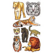 Big Cats Stickers