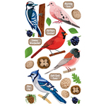 Top US Birds 2 Stickers