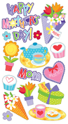 Mother's Day Epoxy Stickers