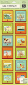 Around The World Photo Slide Stickers By K & Company