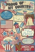Stars And Stripes Cardstock Stickers By Karen Foster