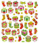 Christmas Stockings And Cheer Stickers