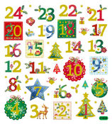24 Days Of Christmas Stickers