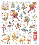 Traditional Christmas Stickers 2