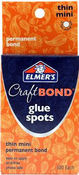 Elmers CraftBond Thin Mini Permanent Bond Glue Spots