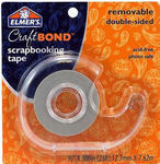 Elmers CraftBond Removable Double - sided Scrapbooking Tape
