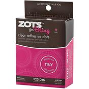 Zots For Tiny Bling Clear Adhesive Dots