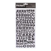 Black Sunrise Thicker Stickers By American Crafts