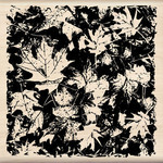 Fall Leaves Wood Stamp By Inkadinkado
