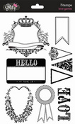 Love Games Clear Stamps By Glitz Design