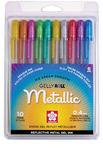 Metallic Gelly Roll 10 Piece Pen Set - Sakura