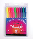 Moonlight Gelly Roll 10 Piece Pen Set - Sakura