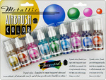 Metallic Airbrush Color Set By Jacquard