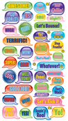 Metallic Teen Captions Stickers By Sticko