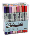 Copic Marker Ciao Set Of 36 - Set D