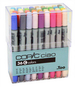 Copic Marker Ciao Set Of 36 - Set C