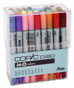 Copic Marker Ciao Set Of 36 - Set B