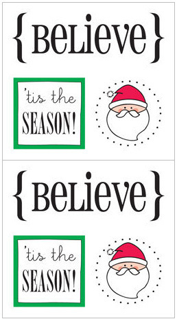 Believe Quick Cards Stickers