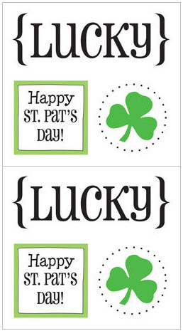 Lucky Quick Cards Stickers