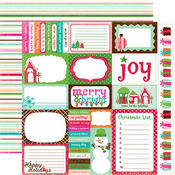 Journaling Cards - Holly Jolly Christmas By Echo Park