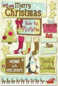 Under The Mistletoe Cardstock Stickers By Karen Foster