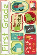 First Grade Cardstock Stickers By Karen Forster