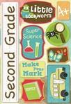 Second Grade Cardstock Stickers By Karen Forster