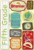 Fifth Grade Cardstock Stickers By Karen Forster