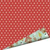 Cinnamon Snowflake Paper - Santa's Little Helper By Imaginisce